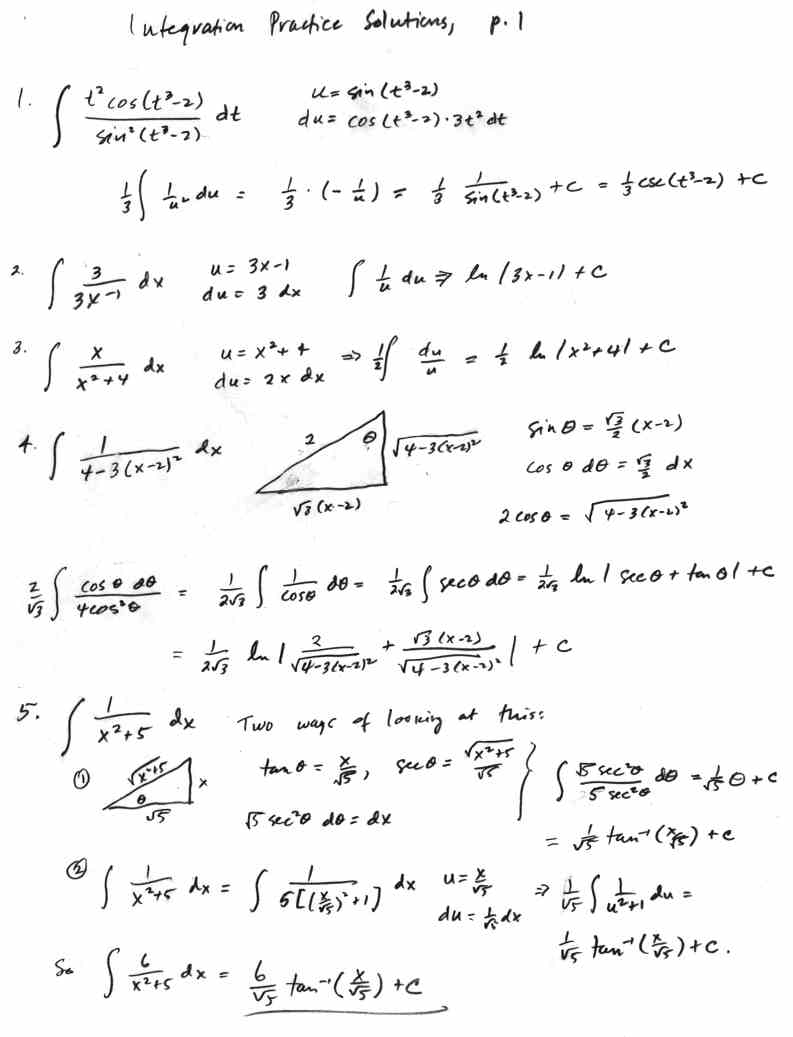 Calculus Notes